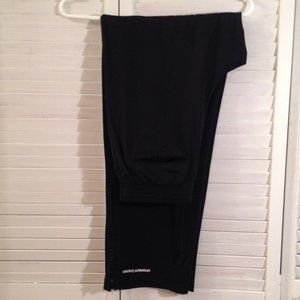 Under Armour MD Black Stretch Track Sweat Pants